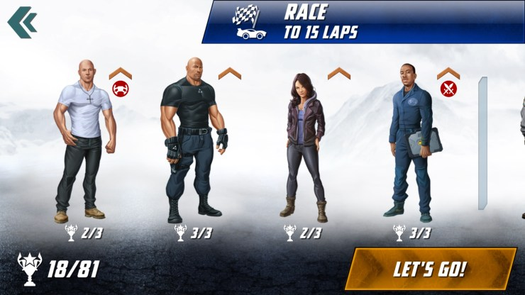 Anki OVERDRIVE: Fast & Furious Edition Review: The Fast & Furious Characters