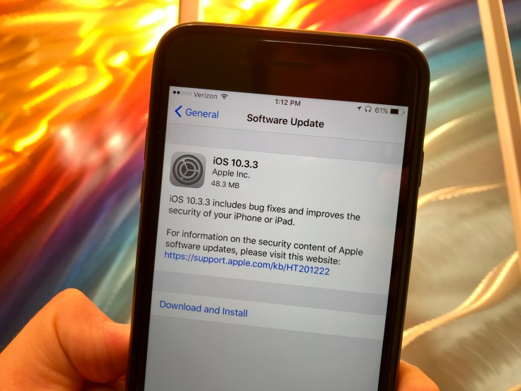 Expect an iOS 10 Downgrade
