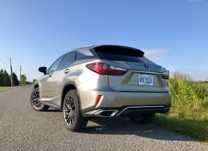 2017 Lexus RX 350 F Sport Review - 23