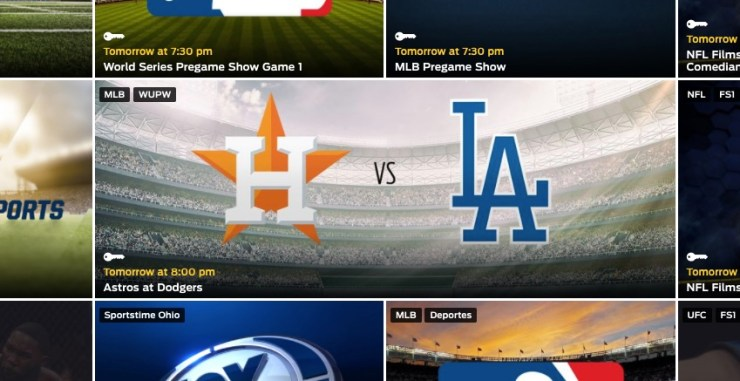 Where to find 2017 World Series live streams.