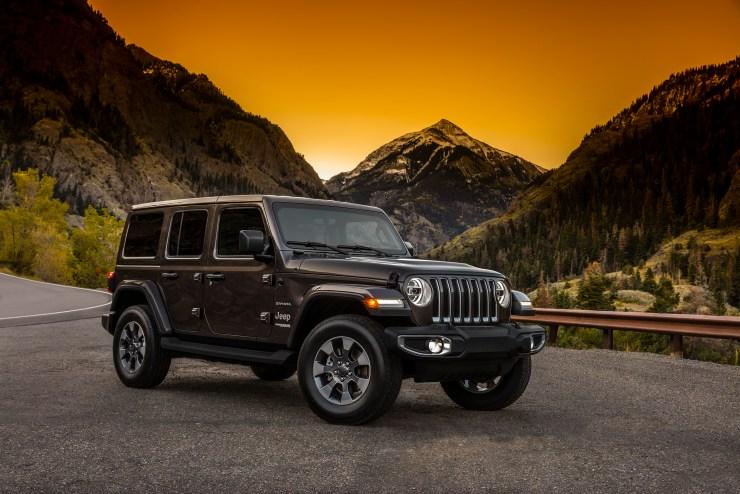 The new 2018 Jeep Wrangler Sahara