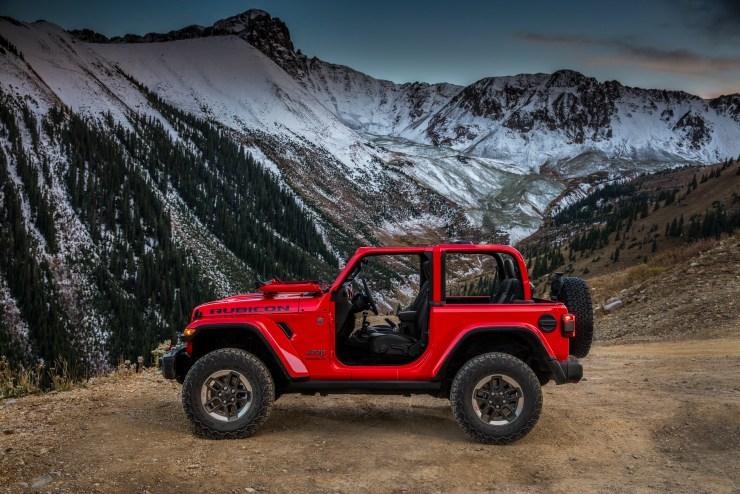 The All-new 2018 Jeep Wrangler Rubicon.