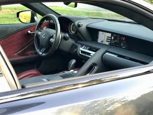 2018 Lexus LC 500 Review - 11