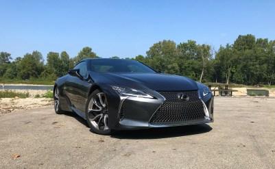 2018 Lexus LC 500 Review - 17