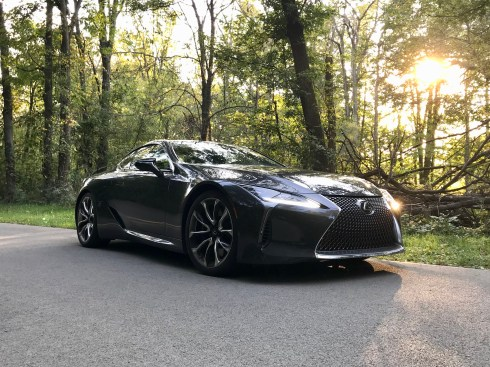 2018 Lexus LC 500 Review - 20
