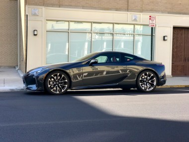 2018 Lexus LC 500 Review - 25