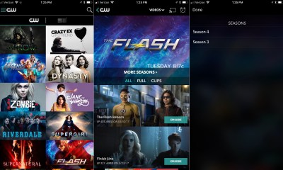 What shows can you watch on the CW app?