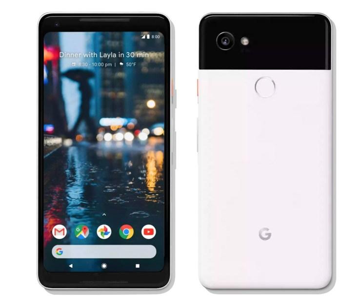 Pixel 2 XL vs LG V30: Design