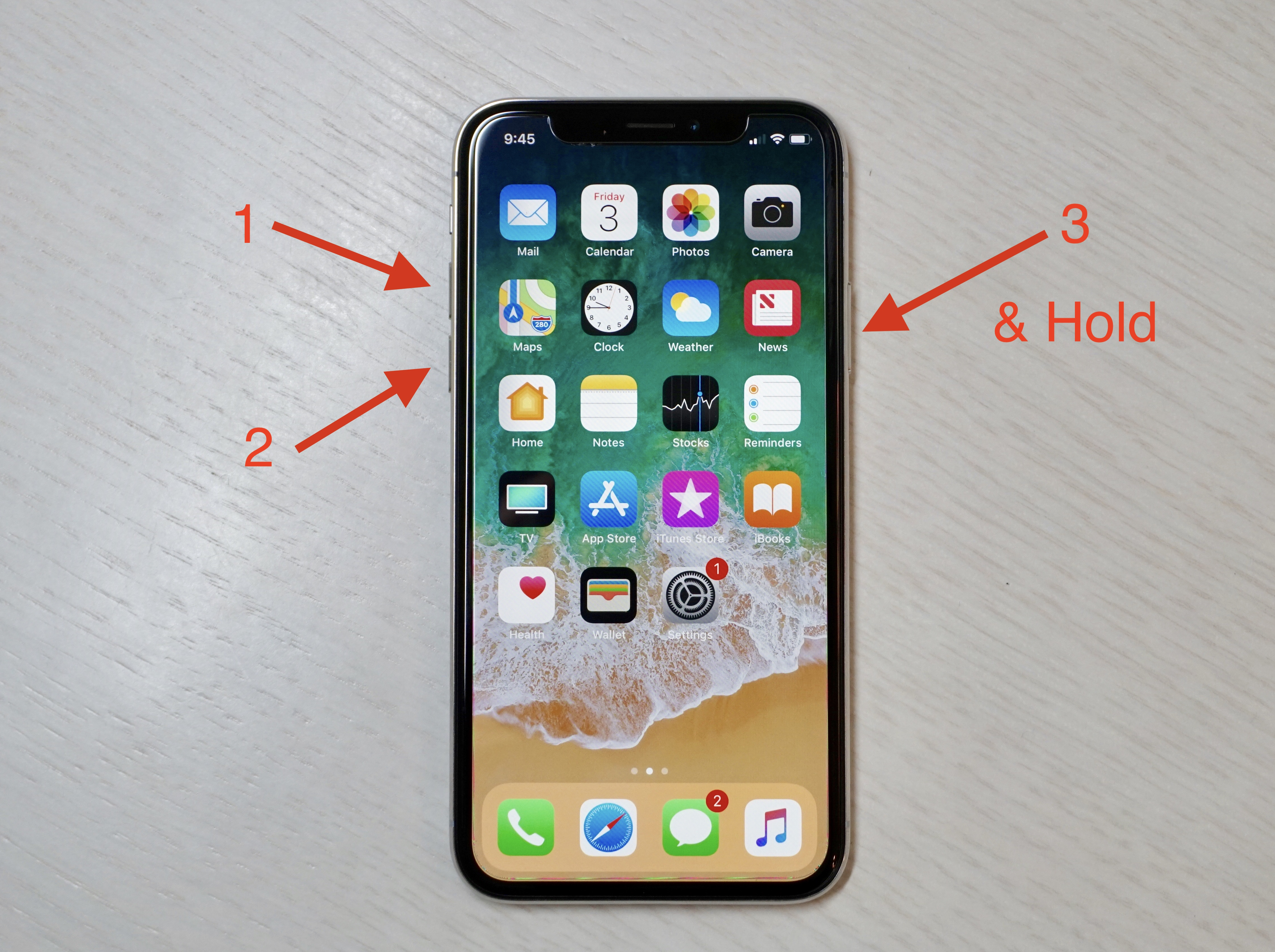 How To Force Restart Or Hard Reset Iphone X