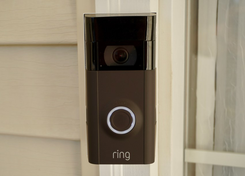 ring video doorbell 2 review somedroid. Black Bedroom Furniture Sets. Home Design Ideas