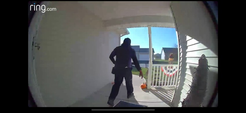 Sample capture from the Ring Video Doorbell 2.