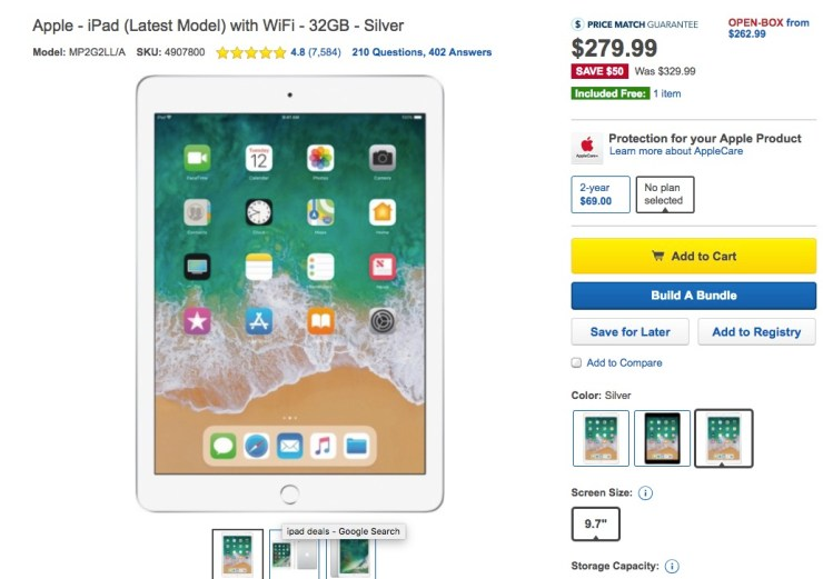 Don't Buy Until You Find iPad Deals