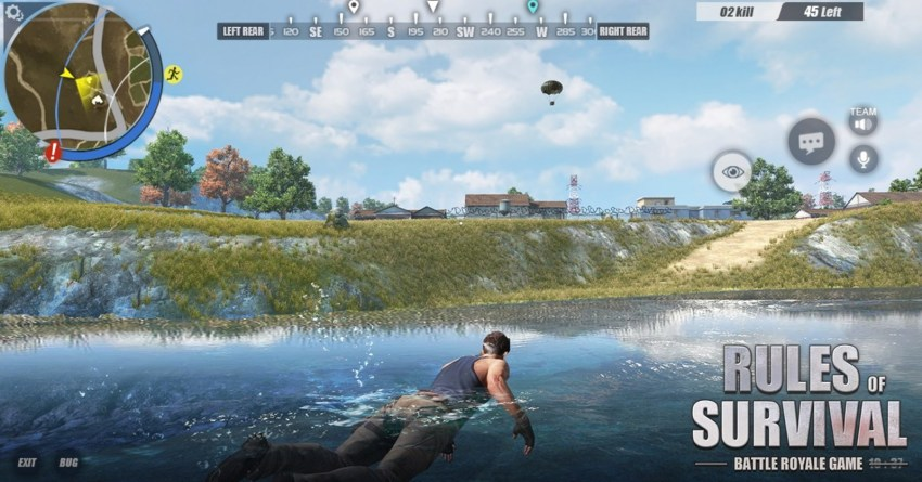 Rules of Survival is a battle royale style game like PUBG and Fortnite.