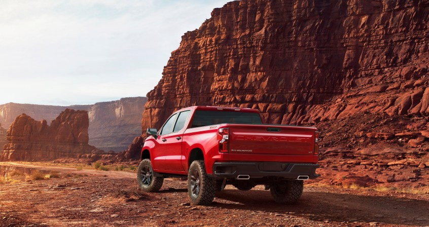 The all-new 2019 LT Trailboss (new trim for 2019) adds off-road