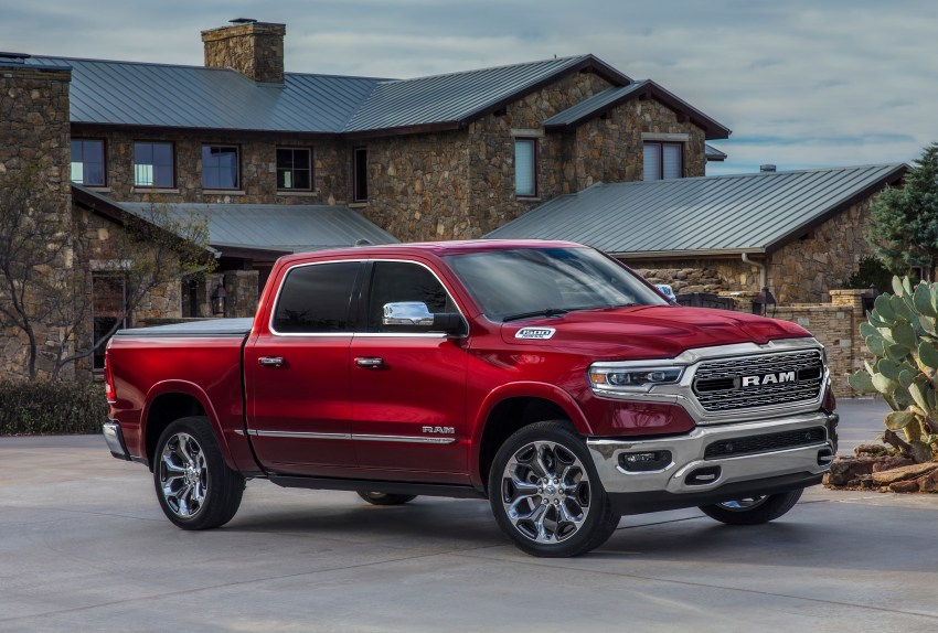 2019 Ram 1500 Limited is all new and packed full of tech and features.