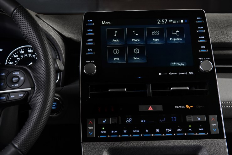 The 2019 Toyota Avalon is the first Toyota vehicle with Apple CarPlay support.