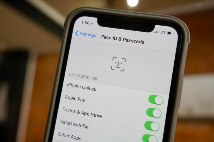 Face ID for Family Purchases