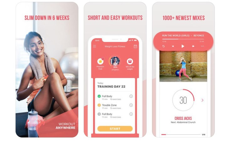 The Weight Loss Fitness app is designed to help you lose weight and get in shape with better meals and more activity.