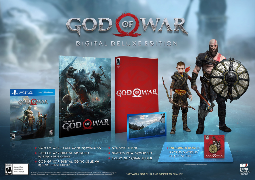 God of War Pre-Orders: Which Edition to Buy for PS4?