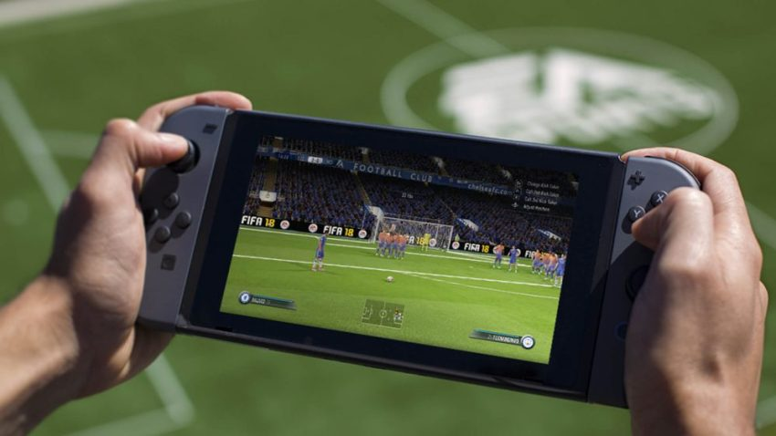 We expect to see FIFA 19 for the Nintendo Switch.