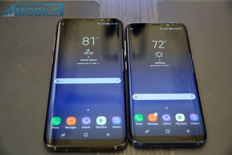 Galaxy S9 vs Galaxy S8: Display & Design
