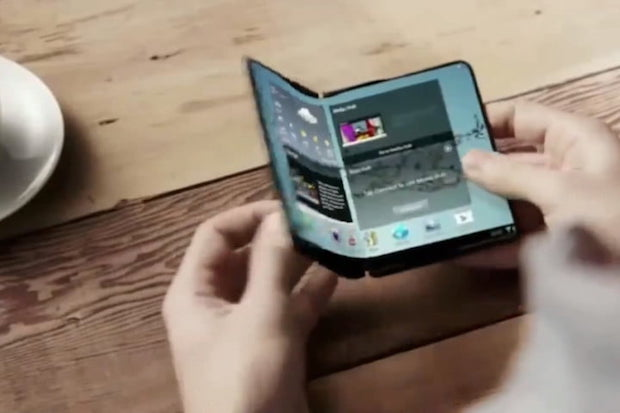Wait for a Foldable Display
