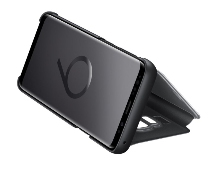 Samsung Clear View Stand Cover ($30)