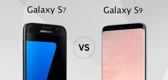 samsung galaxy s9 versus samsung galaxy s7