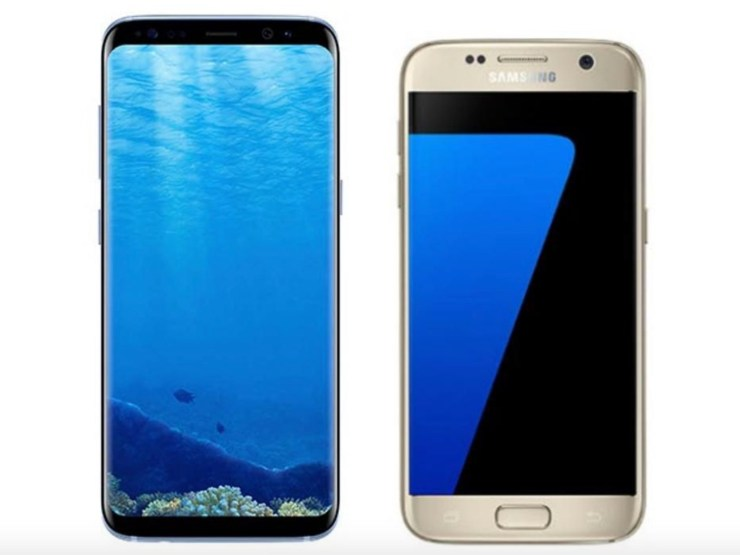 Galaxy S9 vs Galaxy S7: Display
