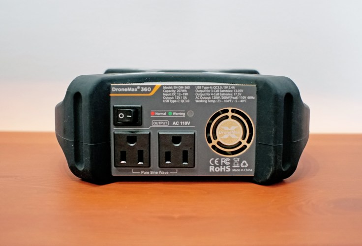 ENERGEN DroneMax 360 Review - Outlets