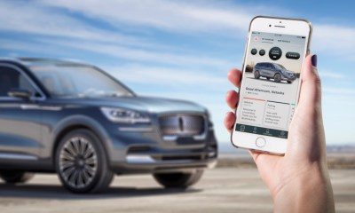 Use your phone as a key with the Lincoln Aviator.