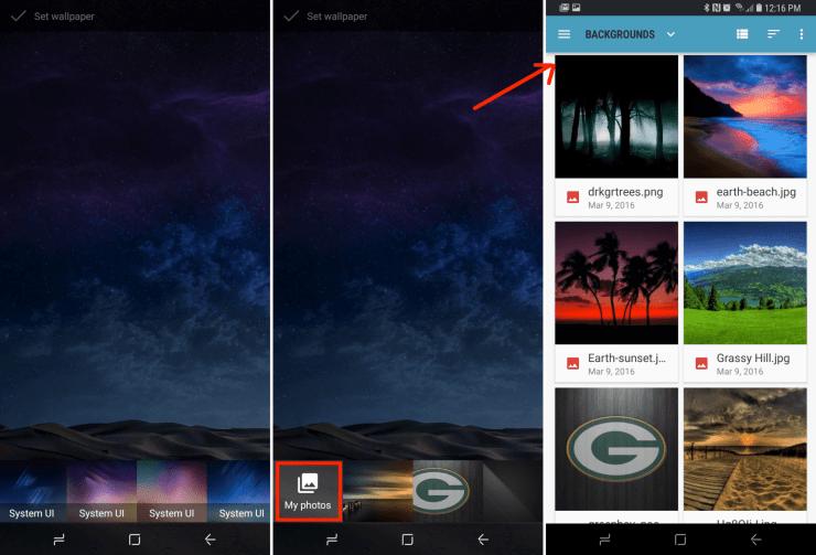 How To Change The Galaxy S9 Lockscreen Wallpaper