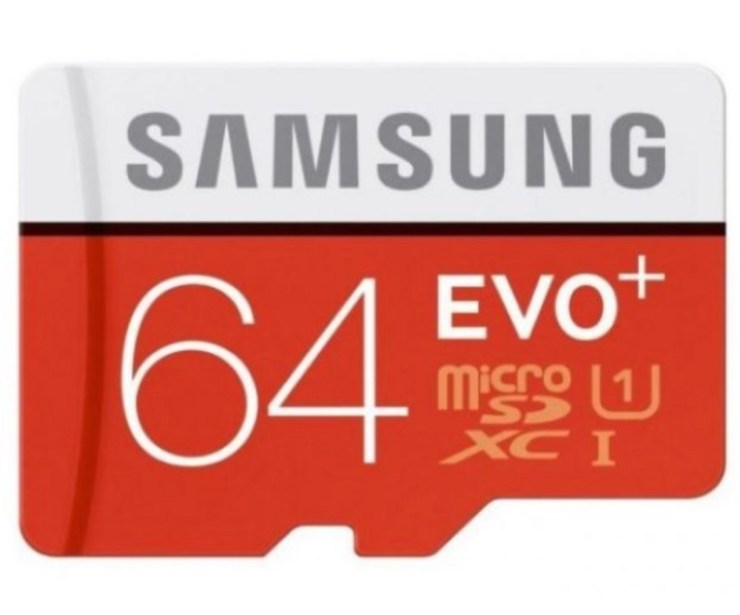 Samsung 64GB EVO+ MicroSD