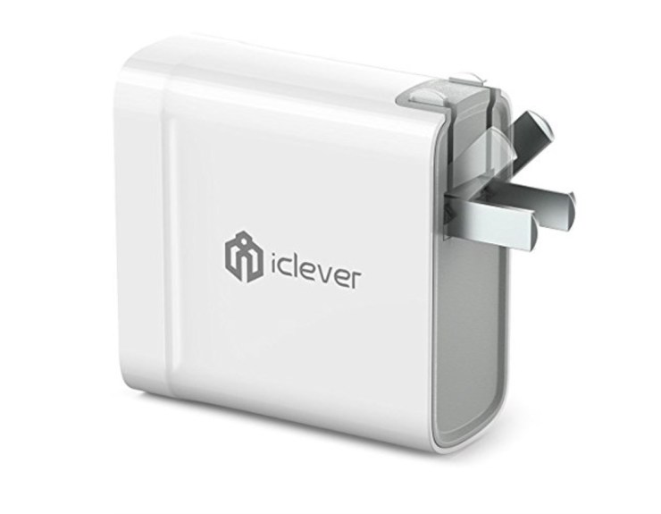 iClever BoostCube Dual Travel Charger