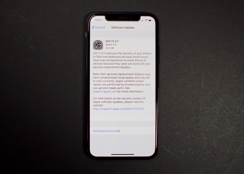 Install iOS 11.3.1 to Fix These Issues