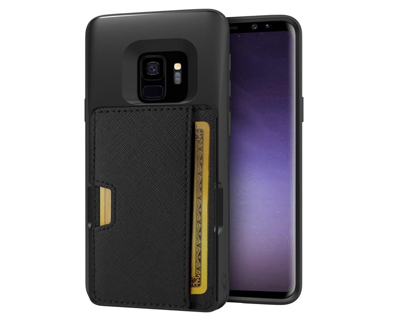 samsung galaxy s9 case card holder