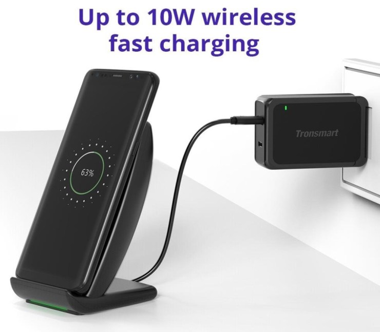 Tronsmart AirAmp Dual Wireless Charger