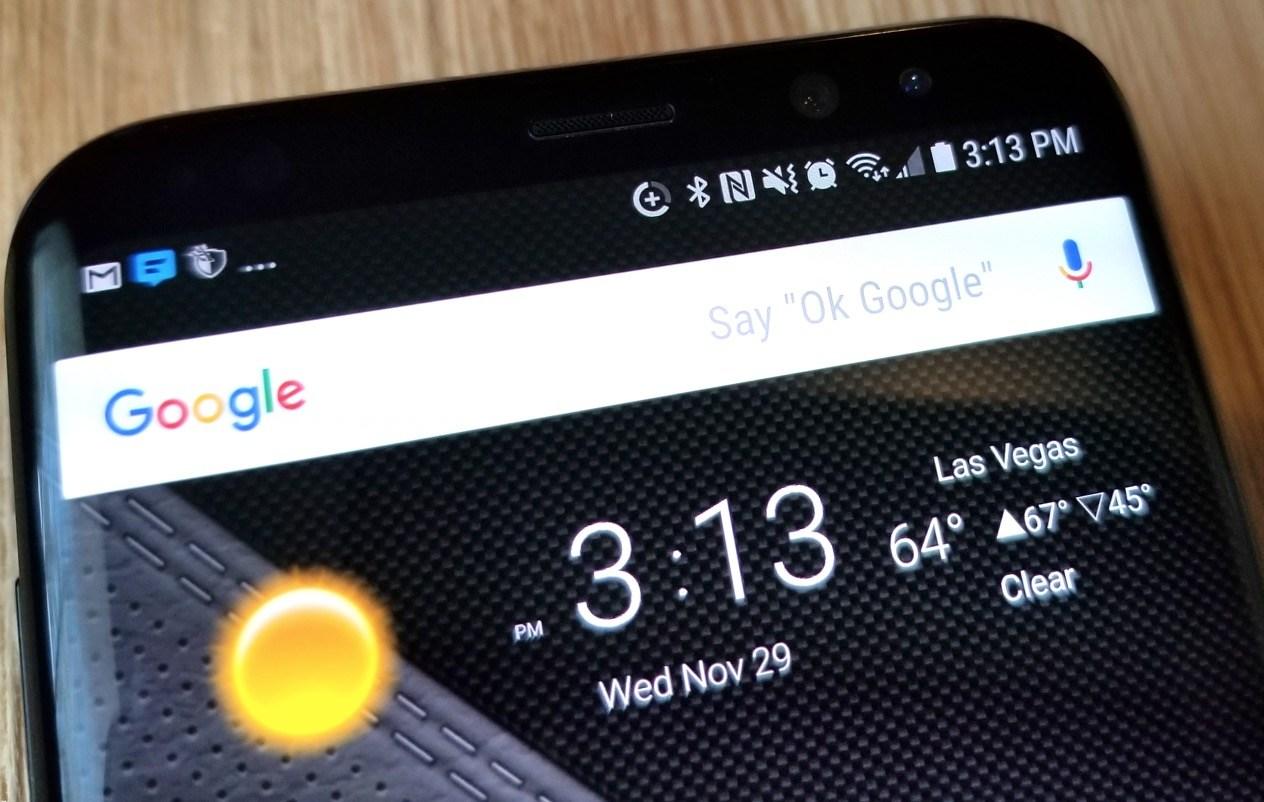 Samsung Galaxy S9 Status Icons