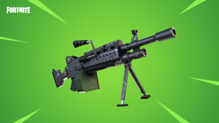 Be on the lookout for the new Fortnite LMG.