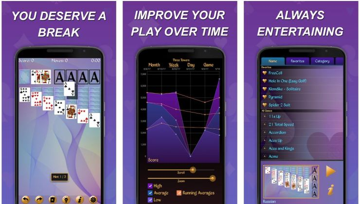 Best Solitaire Apps for iPhone, Android & Windows