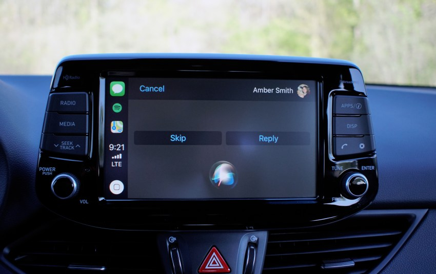 The standard system is good, and you get Apple CarPlay & Android Auto.