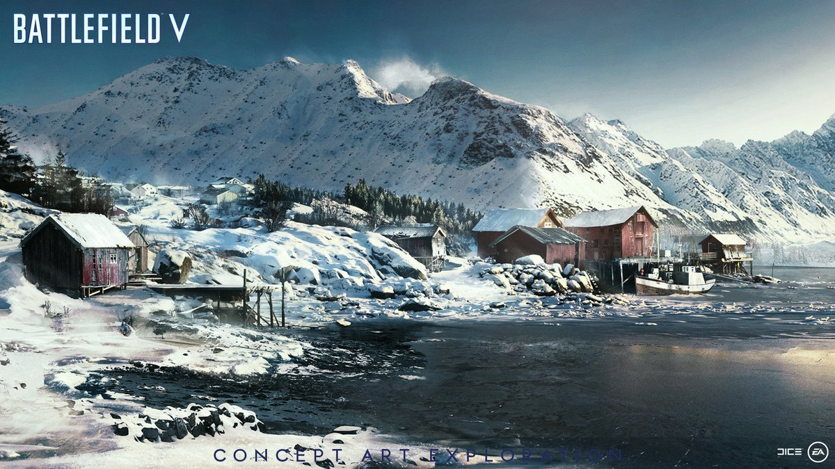 Battlefield 5 pc requirements 3 things to know - Battlefield v concept art wallpaper ...