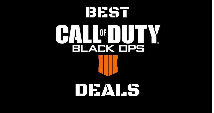 Pre-Order & Save with Call of Duty: Black Ops 4 Deals