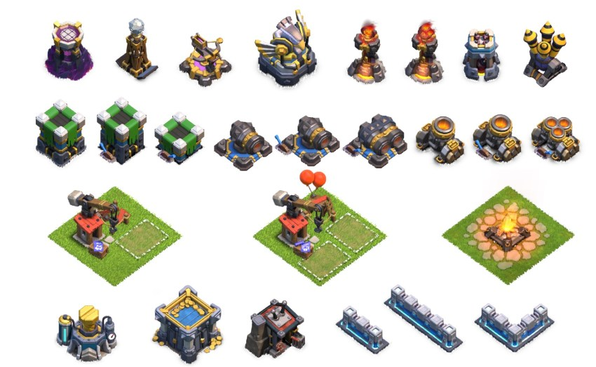 Clash Of Clans Building Level