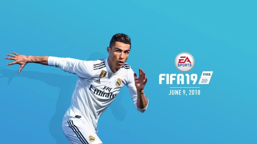 The new FIFA 19 cover.