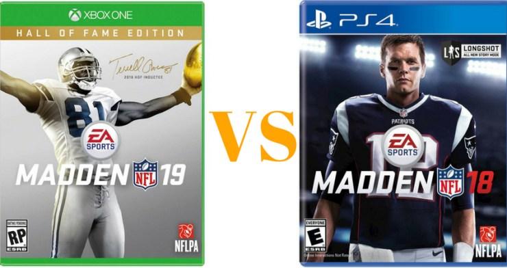 Madden 19 vs Madden 18, what's new in Madden 19.