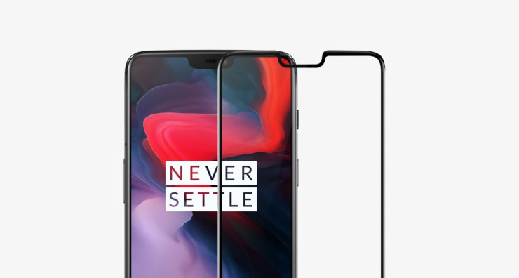 Official OnePlus 6 Tempered Glass
