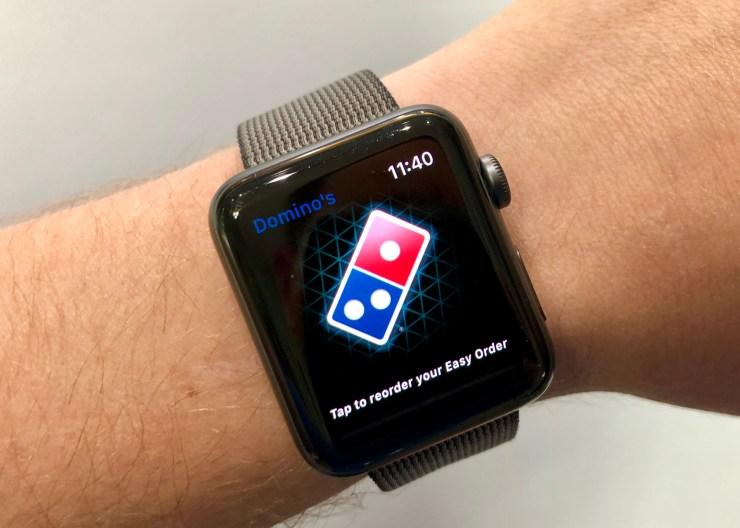 Order a Pizza on Your Apple Watch