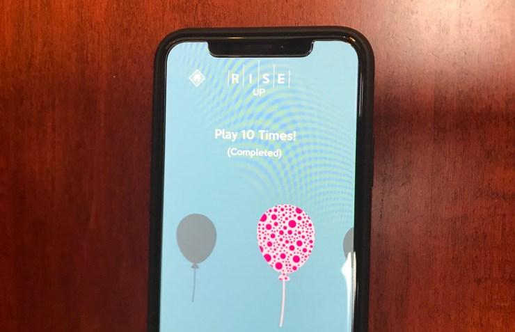 Rise Up är säkert för barn och det finns inga appköp.