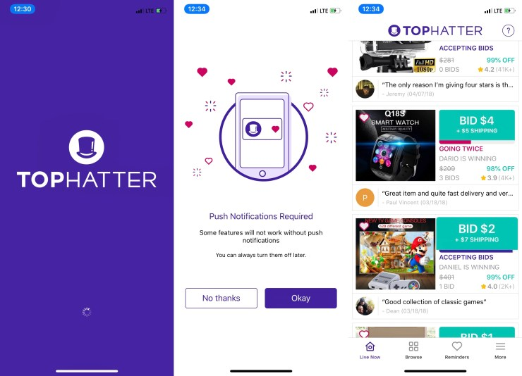 d0fde328a860c What you need to know about Tophatter and the Tophatter app.